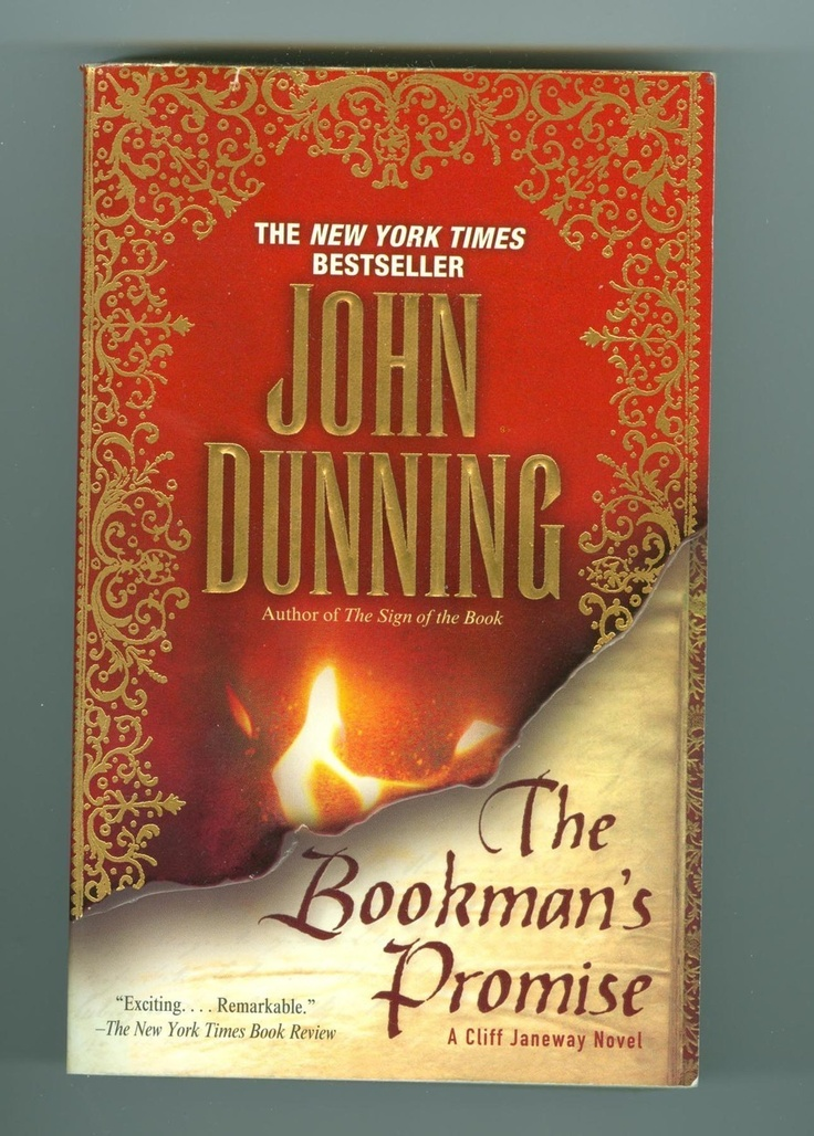 The Bookman's Promise, by John Dunning (Janeway Mystery Novel)
