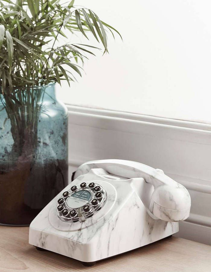 Téléphone effet marbre
