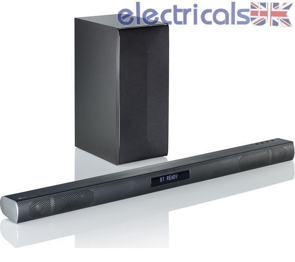 LG LAS455H 300 W Sound Bar With Wireless Sub 2.1 Ch HDMI Optical Bluetooth Black in Sound & Vision, DVD, Blu-ray & Home Cinema, Home Cinema Systems | eBay