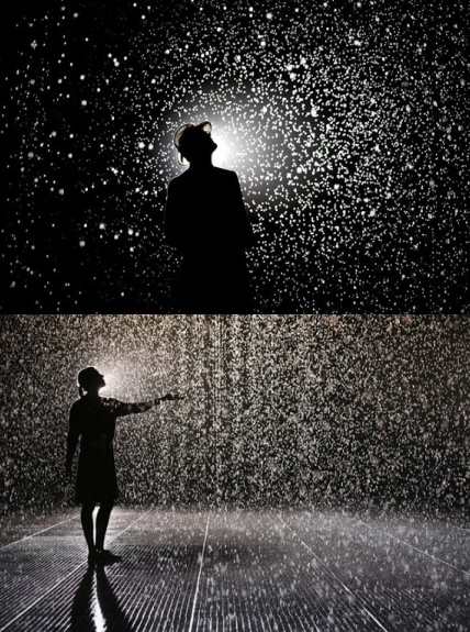 Rain Room, MoMA. I HAVE TO GOOOOO