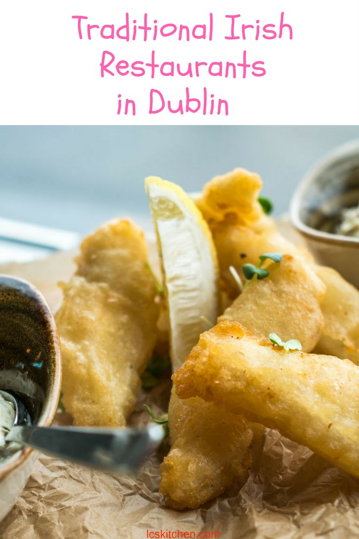Best places where to eat Irish in Dublin
