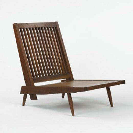 george nakashima lounge chair usa c 1960 walnut 28 w x 33 d x 30 h camila lounge chair 07