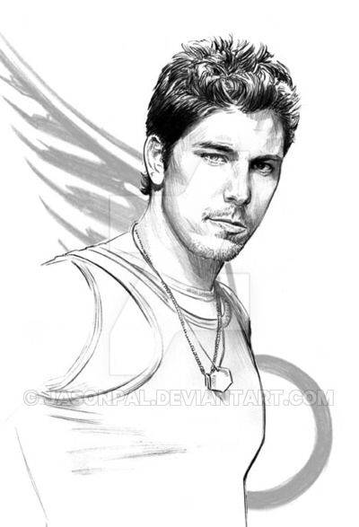 Michael Trucco  -BSG's Sam by jasonpal on @DeviantArt