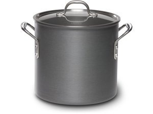 Calphalon Commercial Hard Anodized 12-Quart Stock Pot and Lid