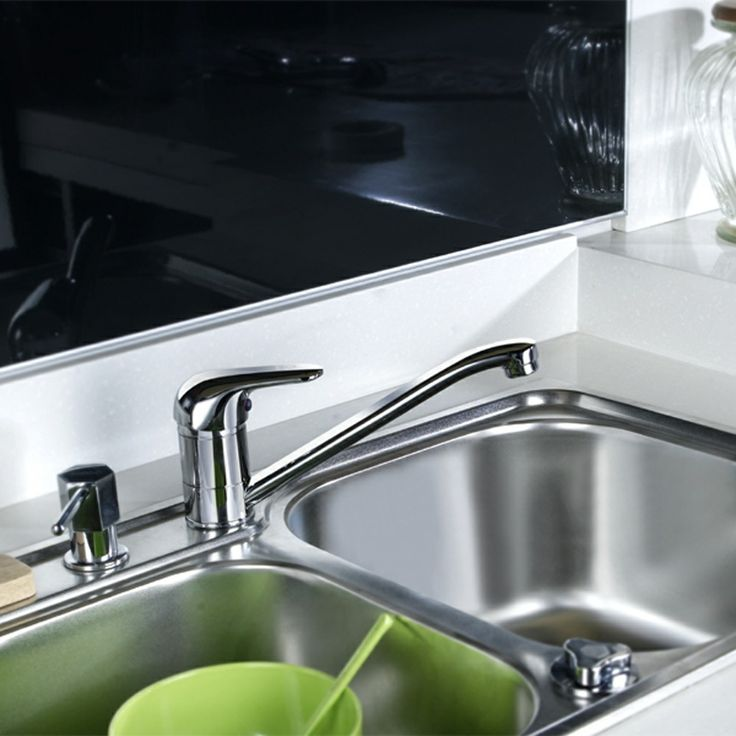 Tristar Chrome Monobloc Single Lever Swivel Spout Kitchen