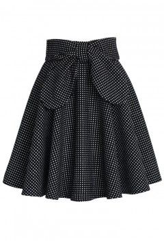 Delight in Dots A-line Skirt - Retro, Indie and Unique Fashion