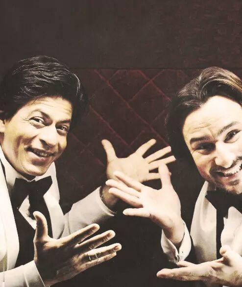 SRK and SAİF ALİ KHAN