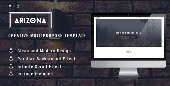 Arizona - Creative Multipurpose Template