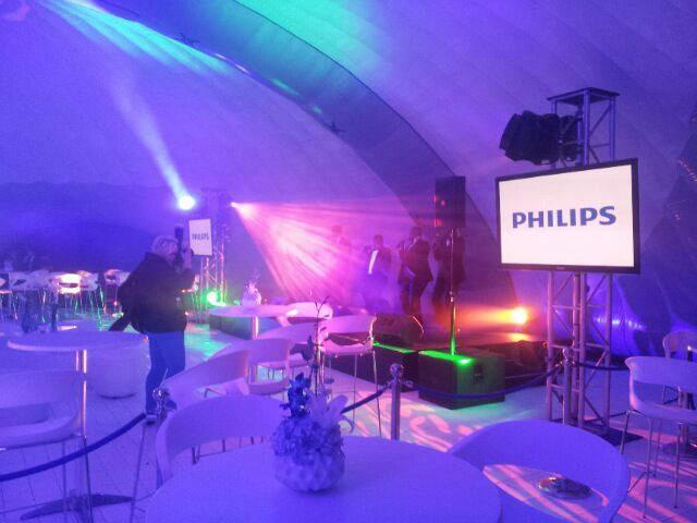 Philips launch at Good Hope Castle, Cape Town