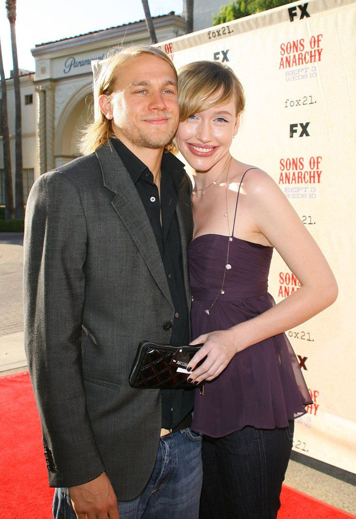 Pin for Later: Charlie Hunnam's Superhot Hollywood Evolution in 35 Photos 2008 Charlie and Morgana McNelis hit the red carpet together for the 2008 Sons of Anarchy premiere screening in LA.