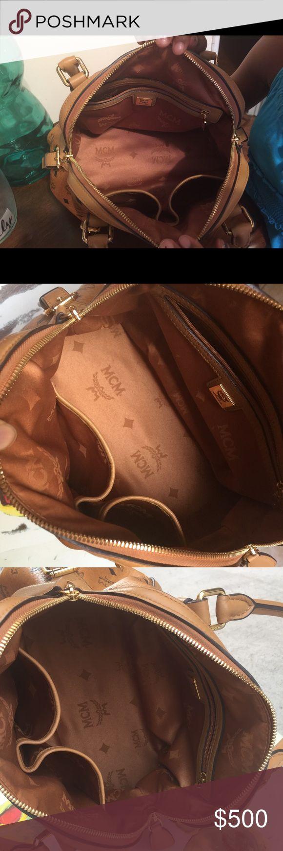 Inside pics of mcm bag Additional pics MCM Bags Satchels