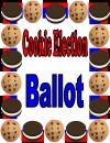 Cookie Election Ballot product from Nias-Niblets on TeachersNotebook.com