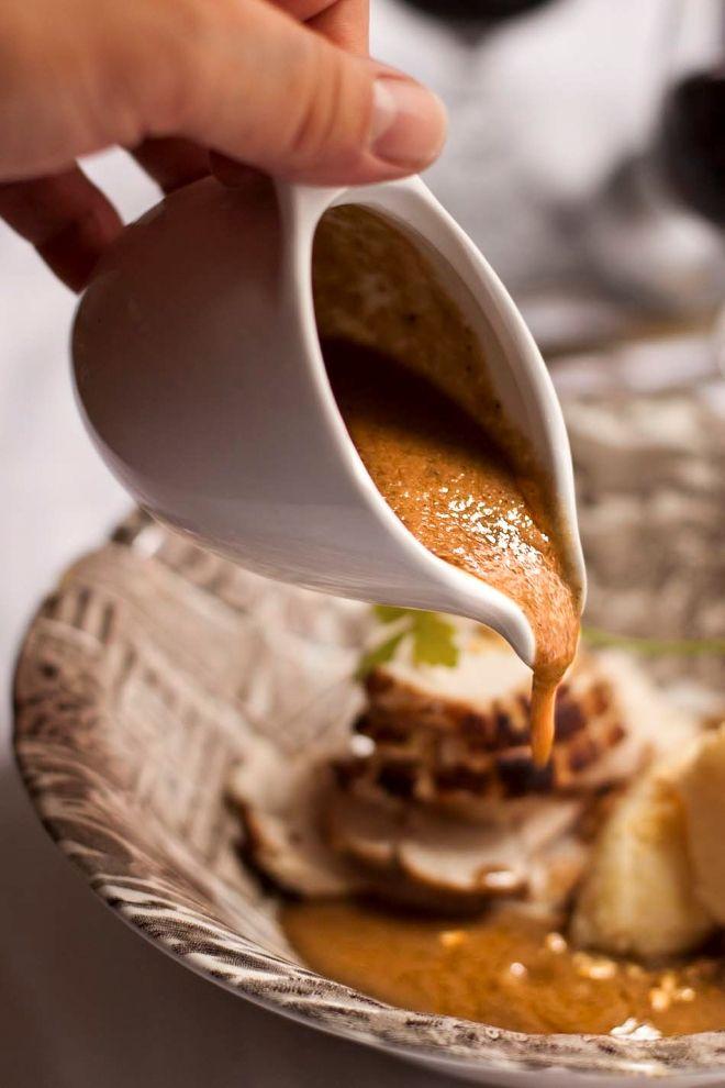 Salsa Gravy de setas - LAS SALSAS DE LA VIDA