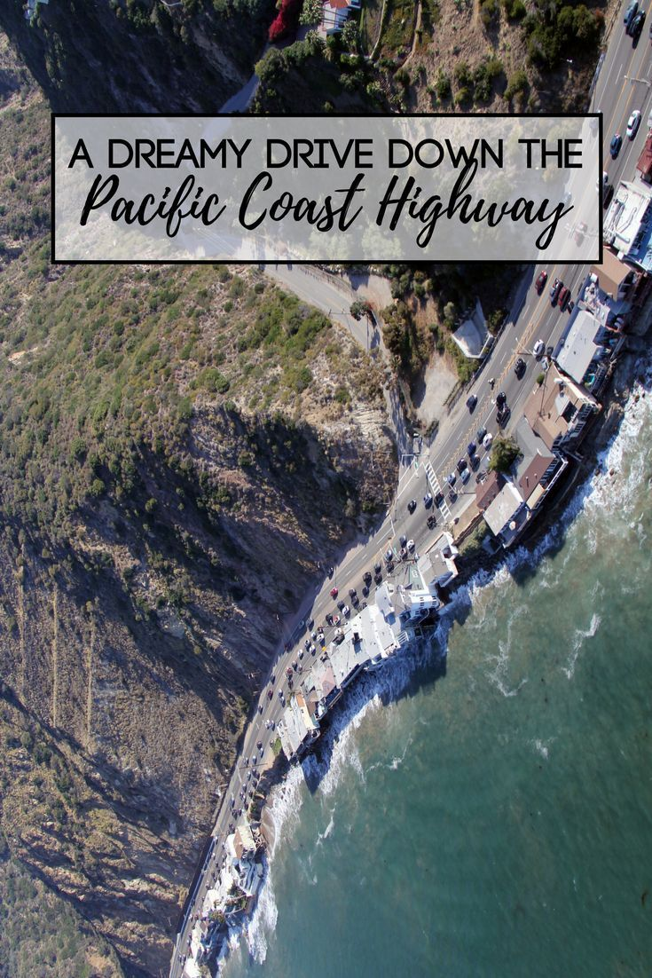 Roll the windows down and take of America's most epic road trips... #california #travel #pacificcoast