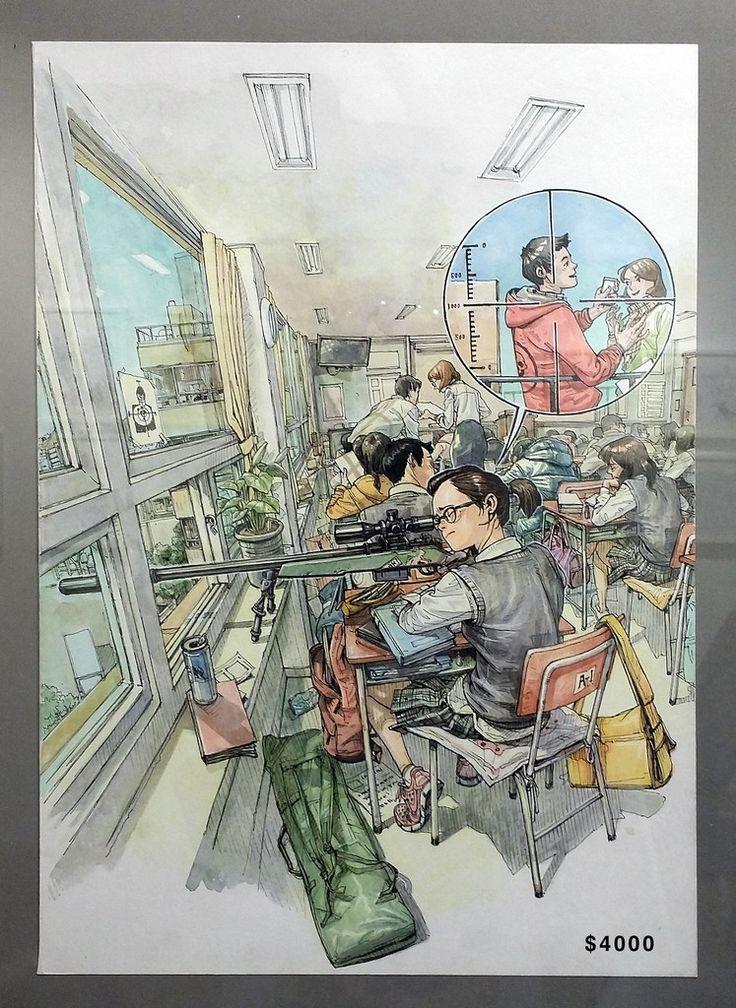 Original Artwork by Kim Jung Gi www.kimjunggius.com