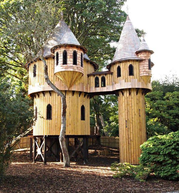 best 25+ kid tree houses ideas only on pinterest | diy tree house
