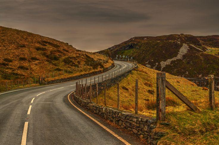 Compleet desolaat gebied en boven de boomgrens hier leeft niks geen bomen,dieren,boeren etc. Noord Wales
