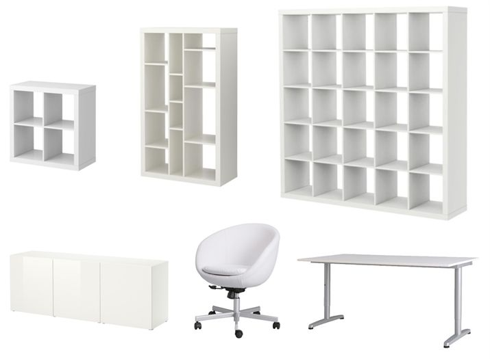 create a clean and organized ikea workspace by using a combination of our great office storage anew office ikea storage