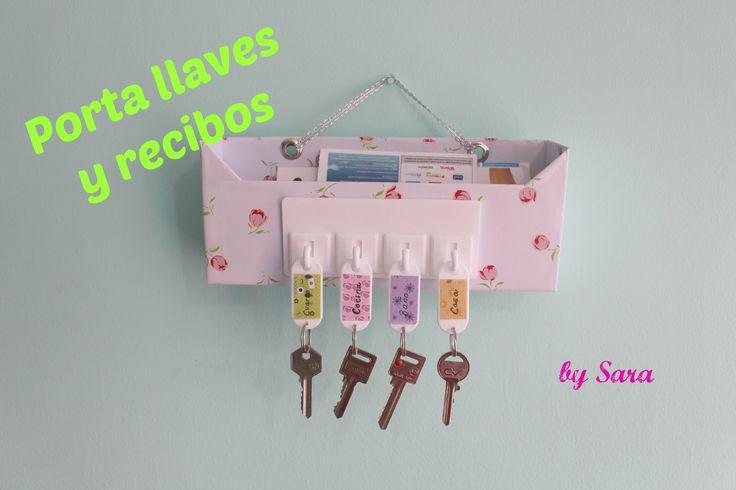 Materiales: caja de carton papel decorado contac (opcional) o papel de regalo colgante para llaves o lo puedes reemplazar con tachuelas o ganchos adhesivos p...