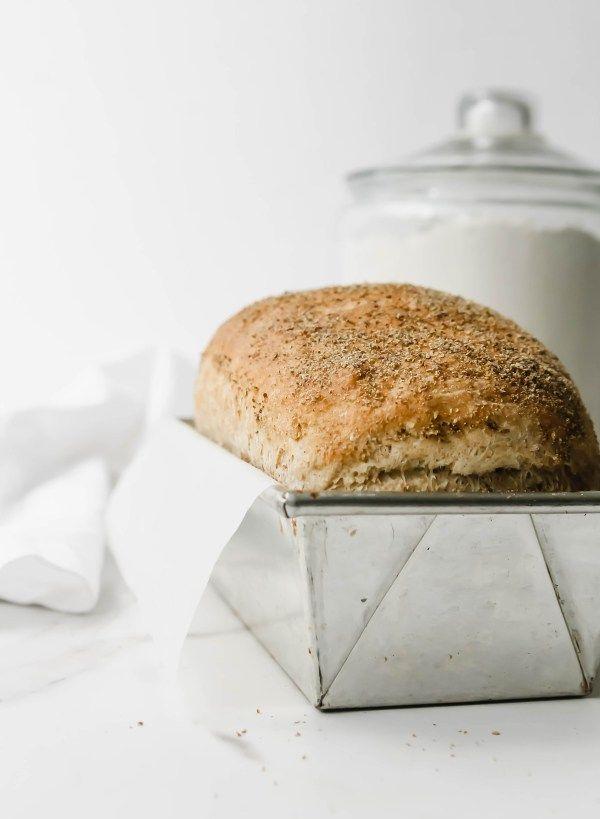 Honey Whole Wheat Sandwich Bread