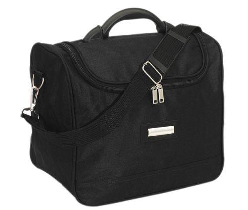 Ванесса Женская туалетная сумка на «молнии»,           съёмный наплечный ремень, 600 D полиэстер.