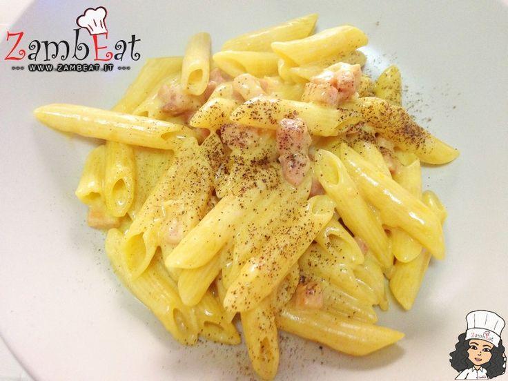 Ricetta - Pastotto zafferano e pancetta - ZambEat