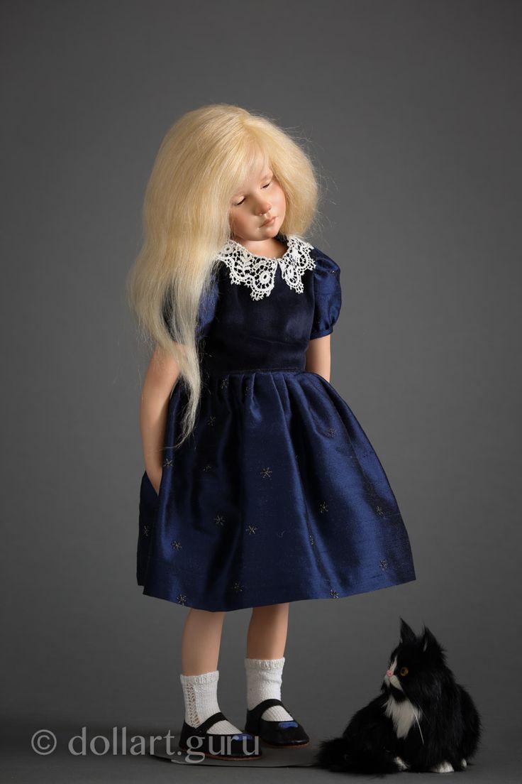 Clemence. Фарфоровая кукла Франсуазы Филачи