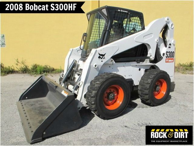 Our featured #SkidSteer is a 2008 #Bobcat S300HF, Enclosed Cab w/ Heater & A/C, Power Bobtach, 915 Hrs. We have great selection of Bobcat Wheel Skid Steer Loaders that are ready to go to work for you! You can view them all at http://www.rockanddirt.com/equipment-for-sale/BOBCAT/skid-steer-loaders-wheel #ConstructionEquipment @Marilyn McMullan Axtell #RockandDirt