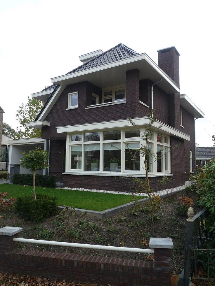 Nieuwbouw woning 30er jaren stijl