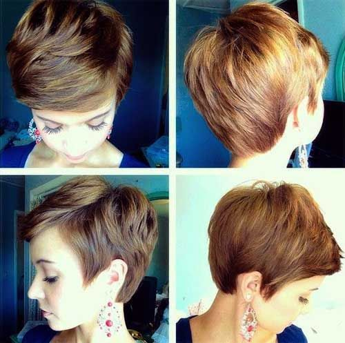 Cute Short Hairstyles especially for girls //  #Cute #especially #Girls #Hairstyles #Short