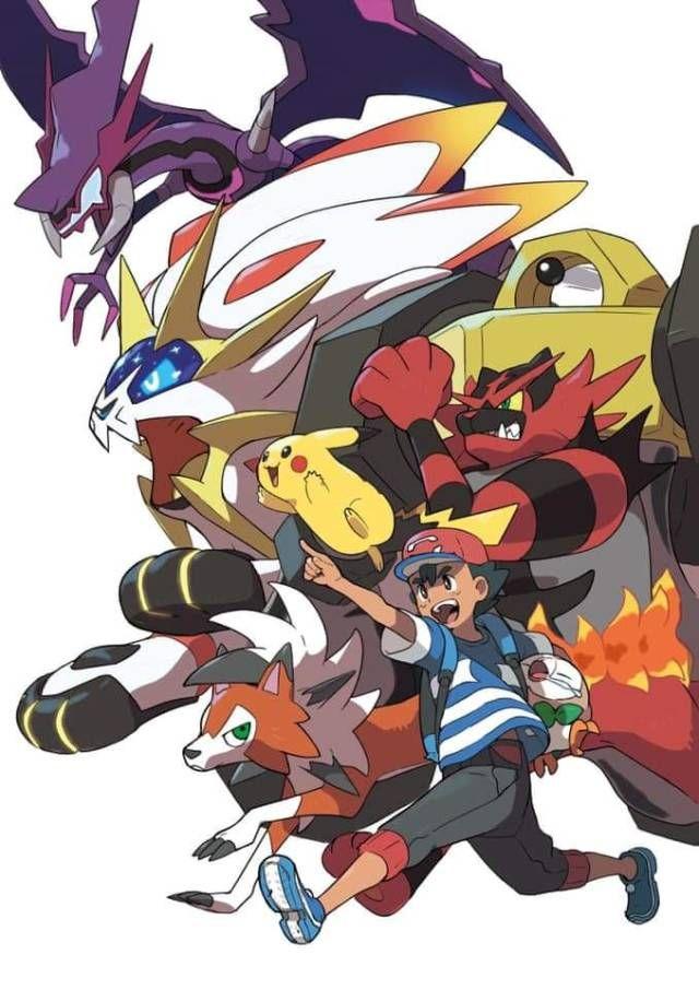 All Alola Pokemon Of Ash Pokemon Poster Pokemon Manga Pokemon
