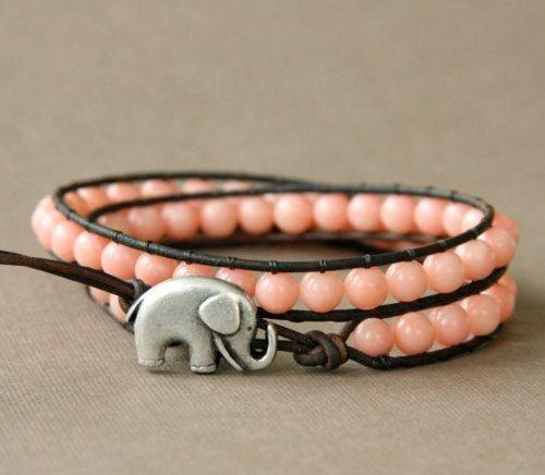 elephants.: Elephants, Good Luck, Fashion, Style, Bracelets, Jewelry, Accessories, Elephant Bracelet