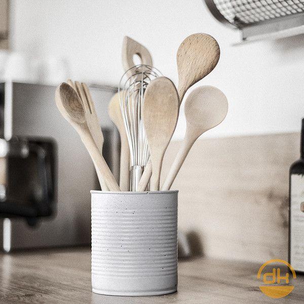 Weiteres - Beton Dosen Vase für Kochlöffel, etc - ein Designerstück von D-Kraehmer bei DaWanda