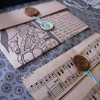 vintage paper envelopes