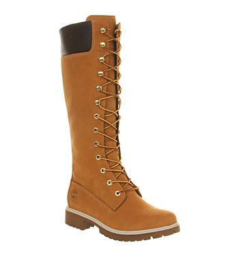 Timberland 14 Inch Premium Boot Wheat - Knee Boots The most stylish walking boots