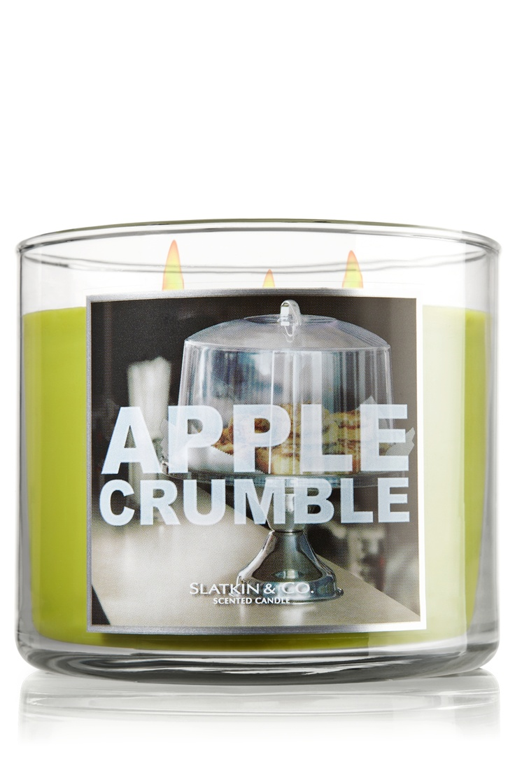 Apple Crumble 14.5 oz. 3-Wick Candle - Slatkin & Co. - Bath & Body Works