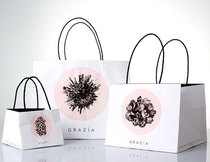 Grazia. Delicacies of Salt and Sweet. - The Dieline -