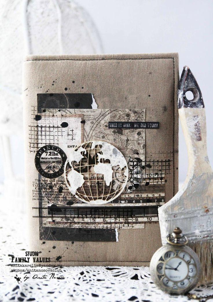 ............My-Scrap.Ru...........: Експресс МК по обложке от Аниты Носовой!