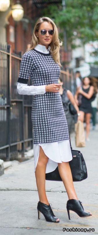 Платье-рубашка - тренд сезона весна-лето 2015