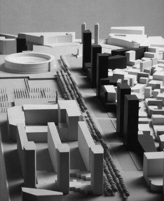 Plan especial de la Calle Tarragona en Barcelona y proyecto de urbanización.  Enric Sòria y J.I. Quintana
