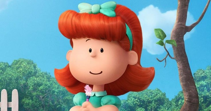 'The Peanuts Movie' Introduces the Little Red Haired Girl -- Francesca Capaldi voices The Little Red Haired Girl, the object of Charlie Brown's affection in 'The Peanuts Movie'. -- http://movieweb.com/peanuts-movie-little-red-haired-girl-photo/