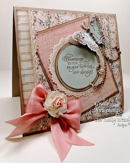 stunning bday card