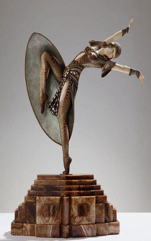 Миг гармонии: вечный танец Ар - деко - ДПИ журнал
