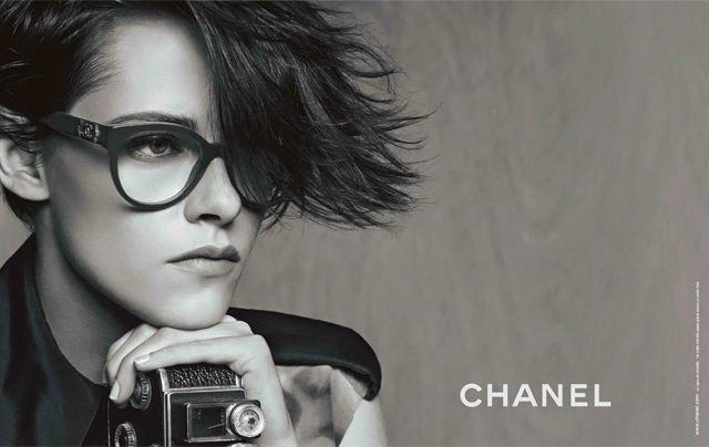 Kristen Stewart models Chanel Eyewear campaign | Кристен Стюарт в рекламной кампании очков Chanel