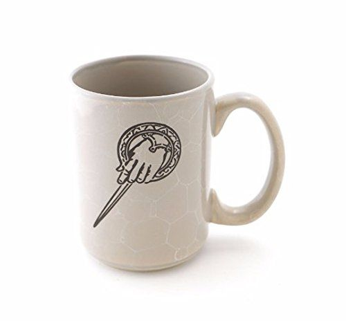 Game of Thrones Hand of The King Mug. Game of Thrones Hand of The King Mug - Commander of the Seven Kingdoms - Lannisters - gift for GOT fan The Hand of the King is the most important position in the Seven Kingdoms after King or Queen. It is the Monarchs most trusted advisor. This mug celebrates the pin that symbolizes that transference of power. Great gift for a Game of Thrones fan. Give your regards just like the Lannisters do! This is a stoneware mug with a bubble glaze. A solid grey...