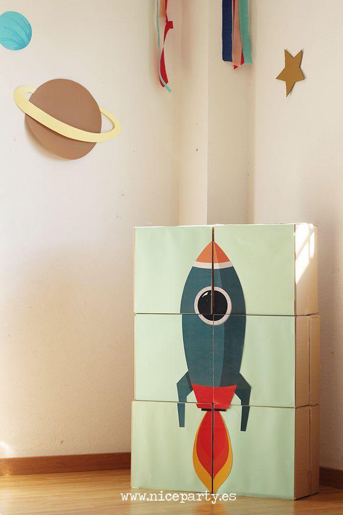 Las 25 mejores ideas sobre fiesta espacial en pinterest - Ideas divertidas para cumpleanos ...