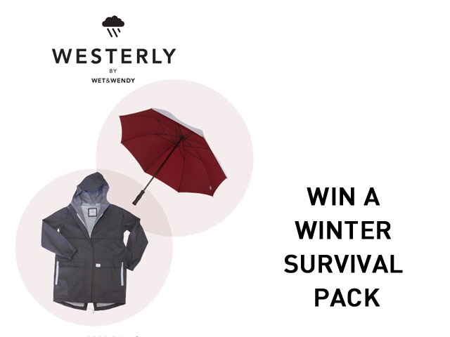 Giveaway: Westerly by WetSurvival Pack, Winter Survival, Wendy Winter