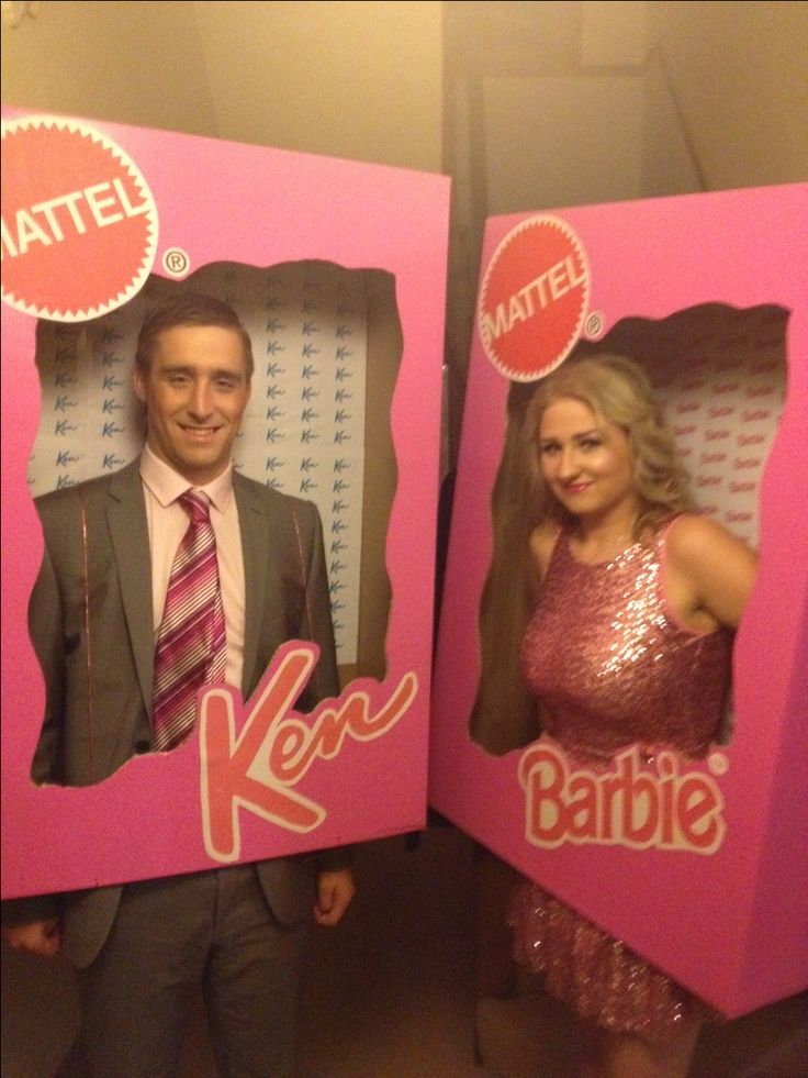 how to make barbie box for fancy dress
