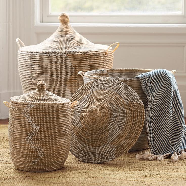 Senegalese Storage Baskets.