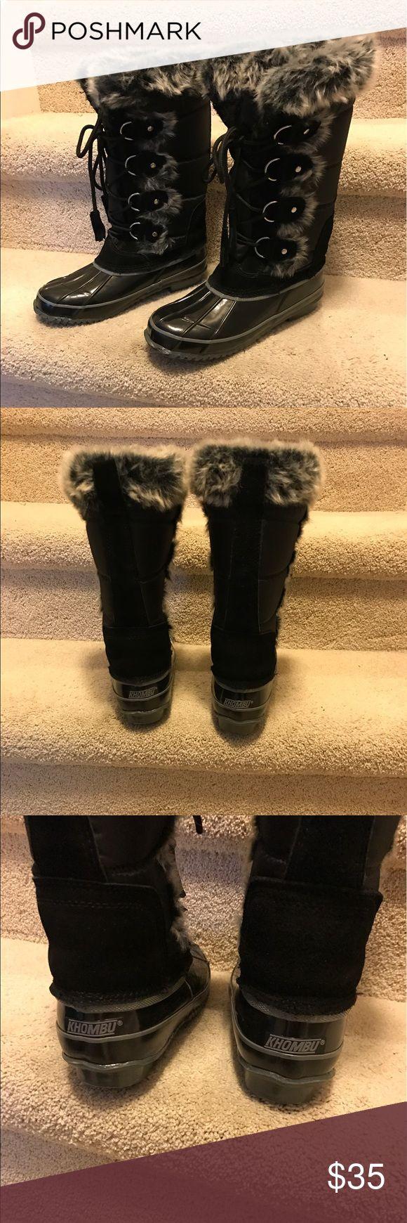 NWOT Khombu winter snow boots size 6 New without tag. Size 6. No box Khombu Shoes Winter & Rain Boots